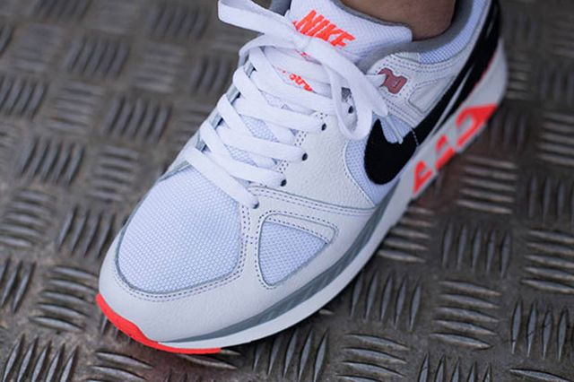 Nike Air Stab White Black Hot Lava 3