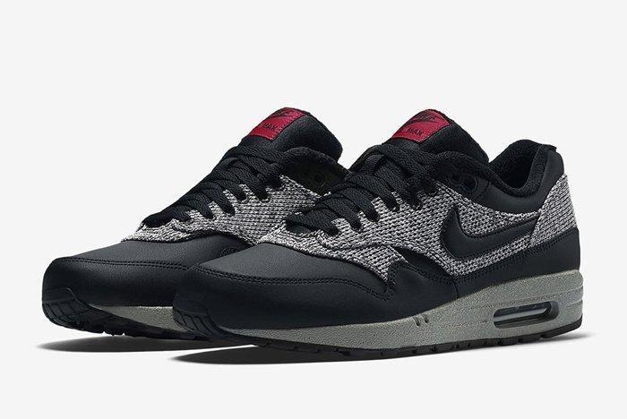 Nike Air Max 1 Essential Knit Black Cool Grey 4