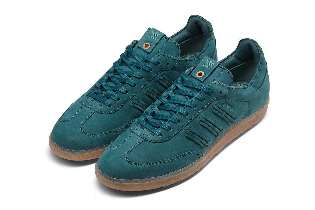Adidas Consortium Womens Samba Deep Hue Pack Green 3