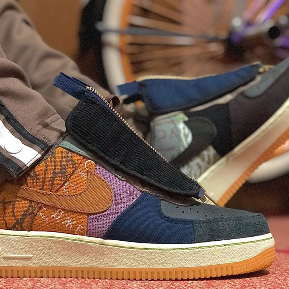 Here S How People Are Styling The Travis Scott X Nike Air Force 1