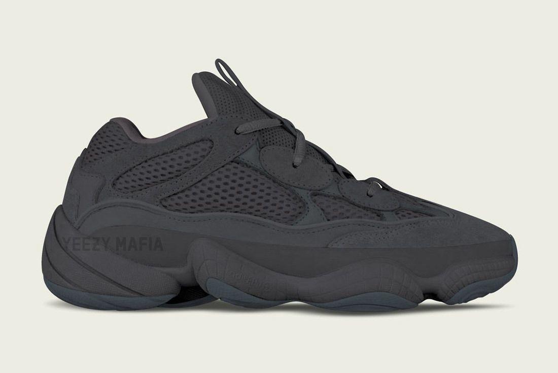 Adidas Yeezy Desert Rat 500 Utility Black Sneaker Freaker