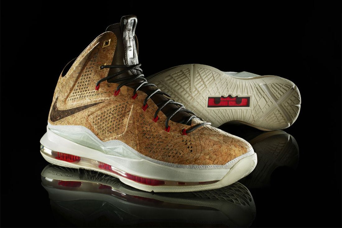 Nike Lebron X Ext Cork Material Matters Feature