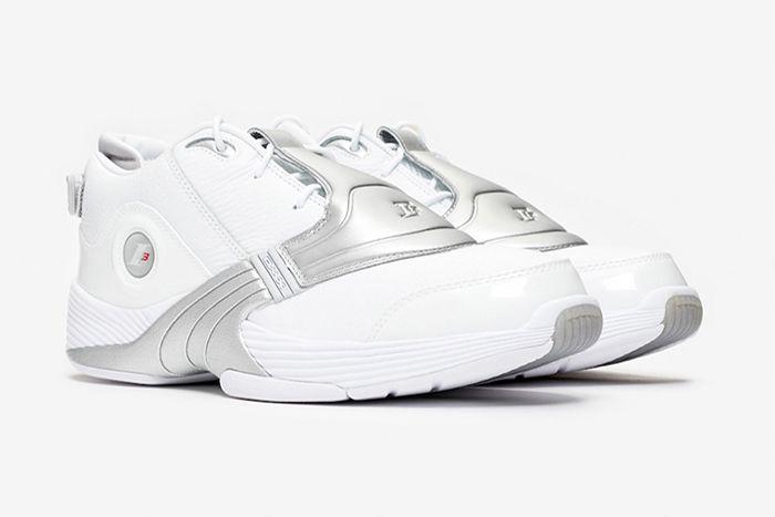 Reebok Answer V White Matte Silver Dv6959 2019 Retro Release Date Pair Fixed