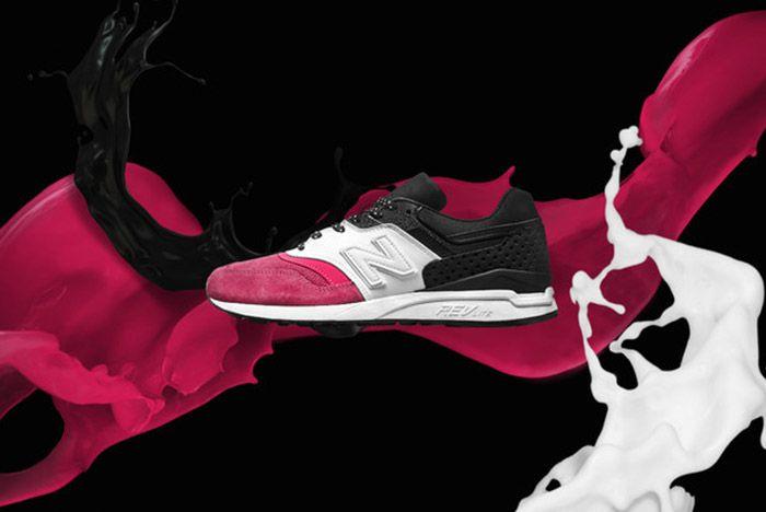 Phantaci New Balance 997 5 Pink White Black Small