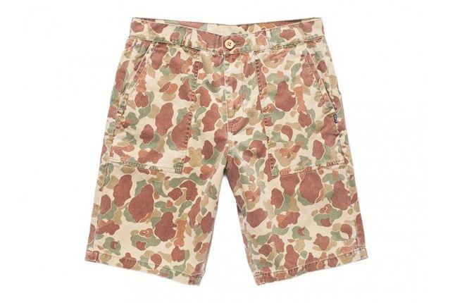 Undefeated Ss13 Washedcamo Shorts 1