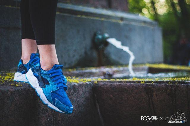 Nike Air Huarache Custom By Maggi Sub Zero 6