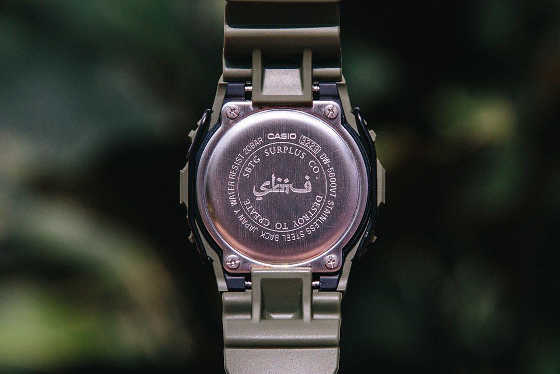 G Shock Sbtg Dw 5600 5