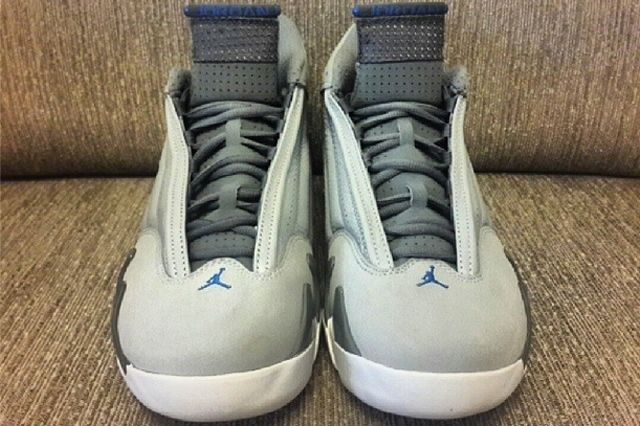 Air Jordan Sport Blue 14 Front