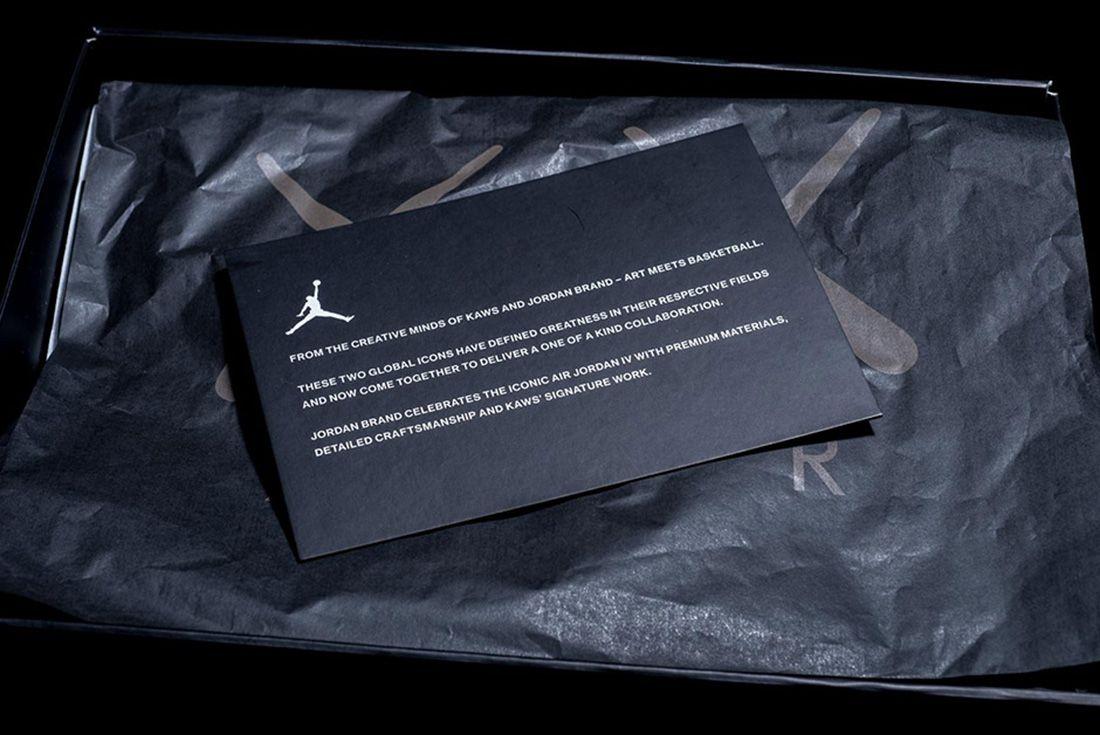 Kaws X Air Jordan 4 8