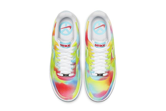 Nike Air Force 1 Low Tie Dye Chicago Ck0838 100 Release Date Top Down