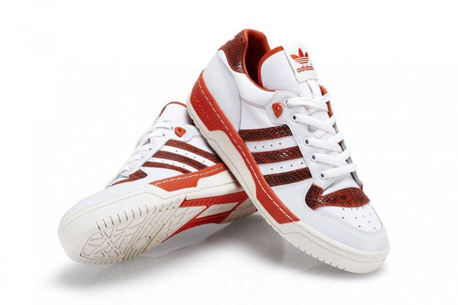 Adidas Rivalry Lo Red Pair 1