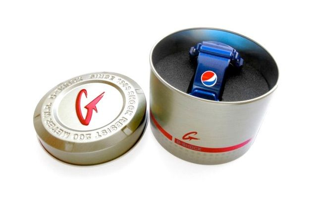 Pepsi Gshock Halliburton 5 1