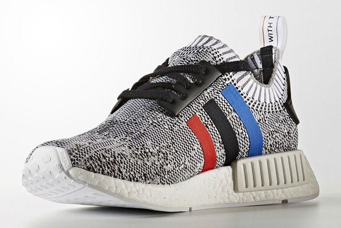 Adidas Nmd Pk Blue Red White Stripes White 4