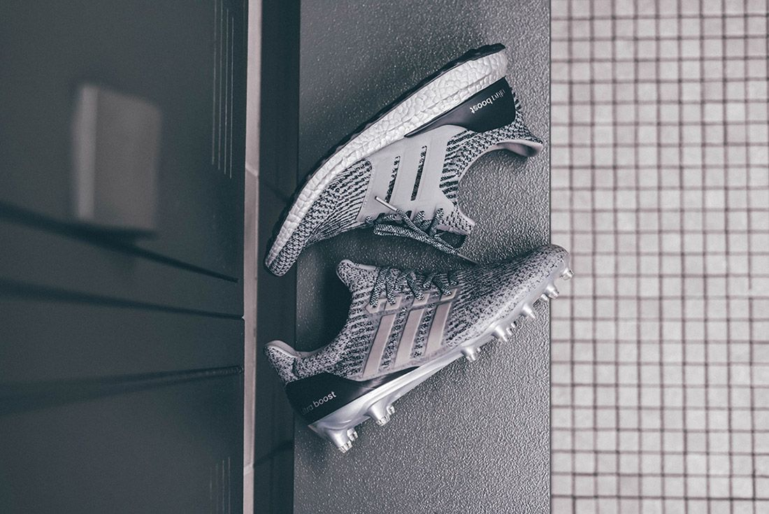 Adidas Ultraboost Silver Pack Cleat 3