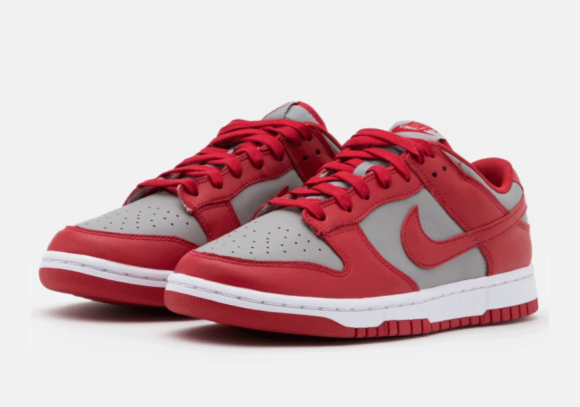 Nike Dunk Low 'UNLV' on white