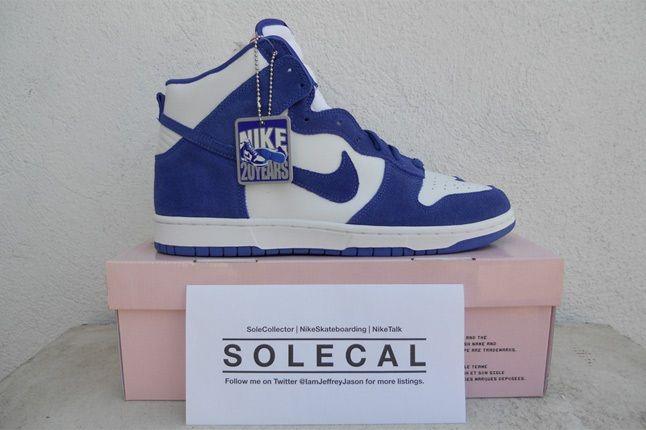 Nike Dunk White Blue Sb 1 1