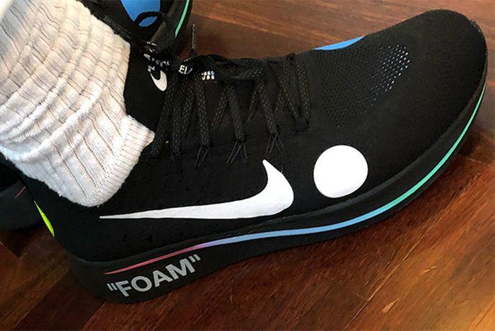Off White Nike Zoom Fly Mercurial Flyknit Black 3 Sneaker Freaker