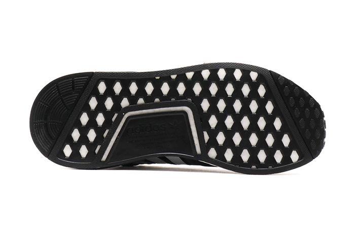 Atmos Adidas Nmd R1 Black White 5