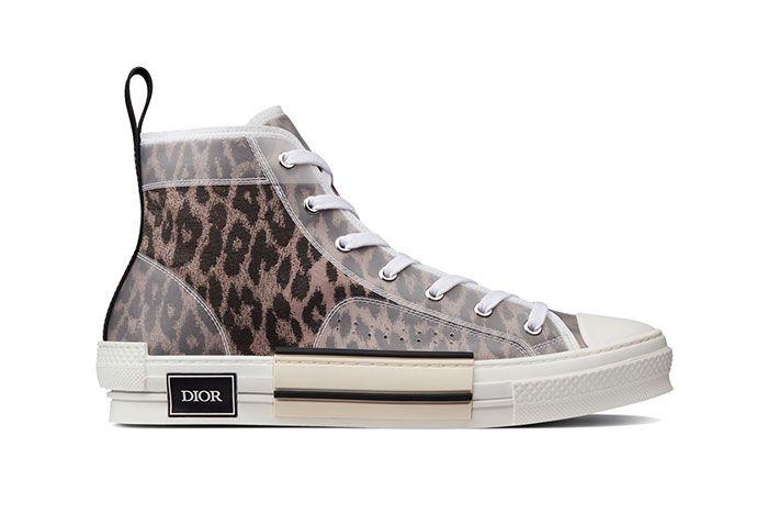 Dior B23 High Top Leopard Print Sneaker 1 Side4