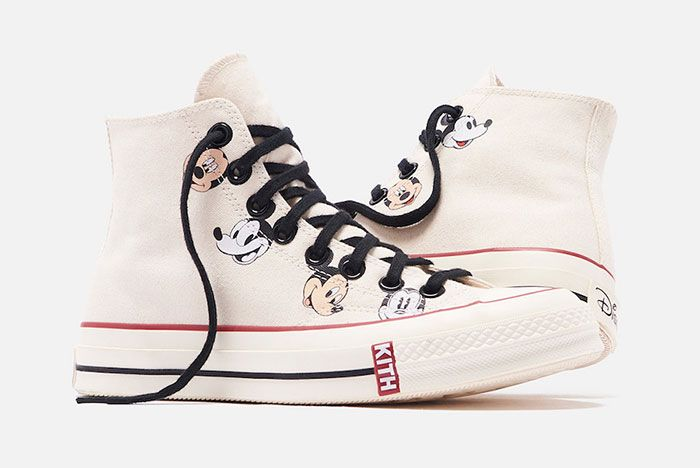 Kith Disney Converse Chuck 70 Mickey Mouse Release Date 2White Hero Shot