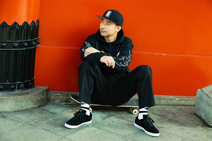 Cluct Airwalk Mita Sneakers Collaboration Collection Release Info 1 Skater Model Shot
