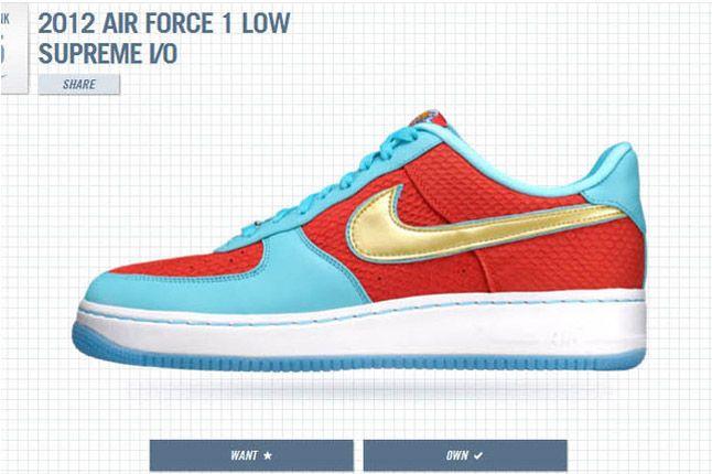 1Thology Leaderboard Air Force 1 Nike 1