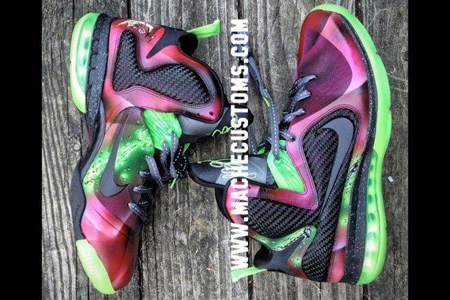 Nike Lebron 9 Spawn Mache 2 1