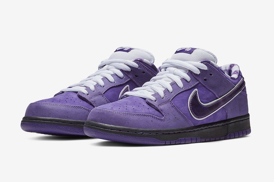 Nike Sb Dunk Low Purple Lobster Concepts Bv1310 555