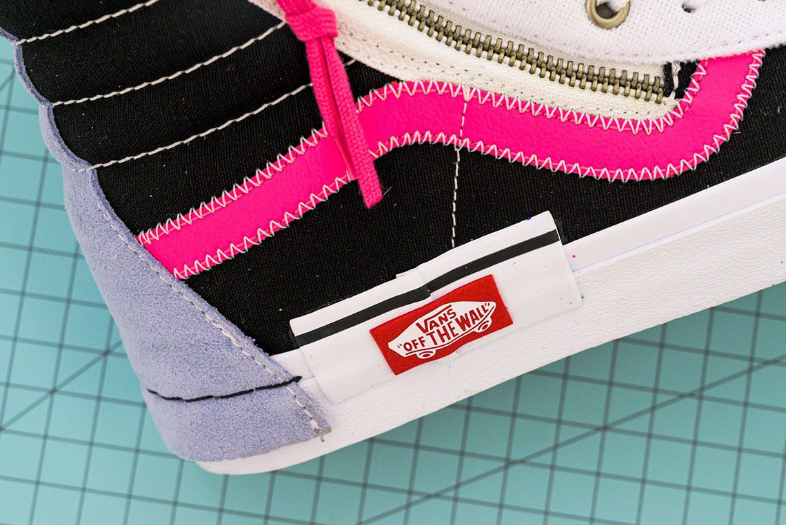 Vans Sk8 Hi Reissue Cap Lateral Heel Detail 2