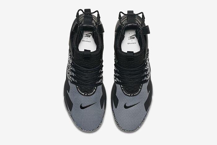 Acronym Nike Air Presto Mid Dynamic Yellow Cool Grey 10