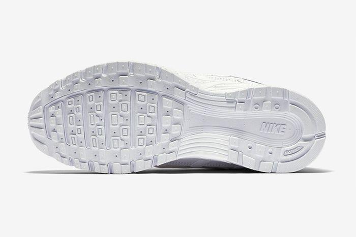 Nike P 6000 Triple White Release Date Outsole