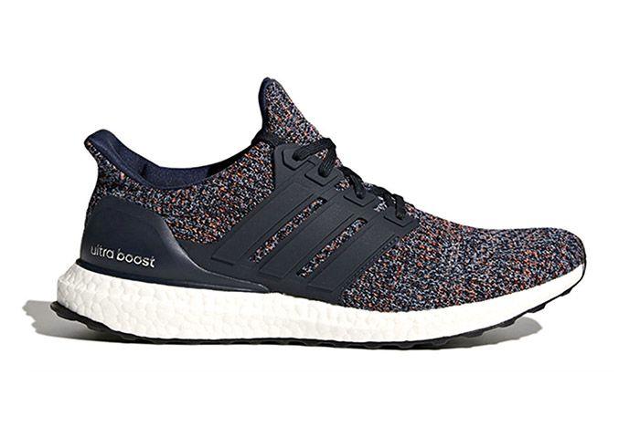 Plate Adidas Ultraboost 4 0 Navy Multicolor Sneaker Freaker