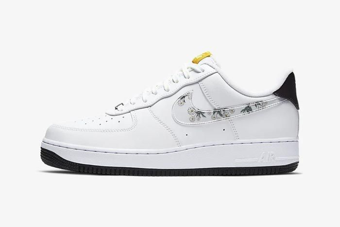 Nike Air Force 1 Flowers Lateral