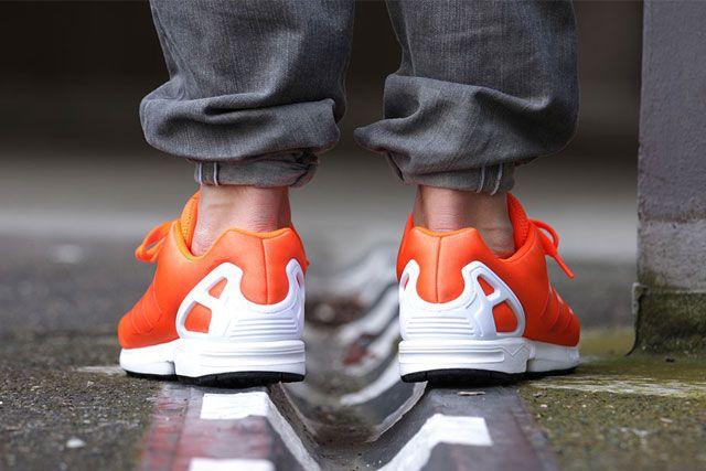 Adidas Zx Flux Solar Orange 2