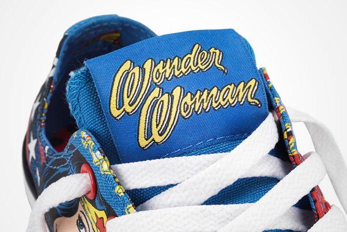 Dc Comics X Converse Chuck Taylor All Star ' Wonder Woman' 2012 Present7