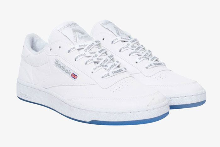 Reebok Palace Club C White Leather Front Side