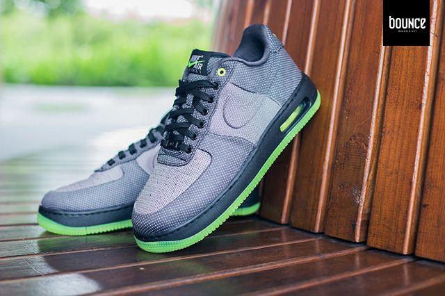 Nike Air Force 1 Vt Jacquard Grey Volt 2