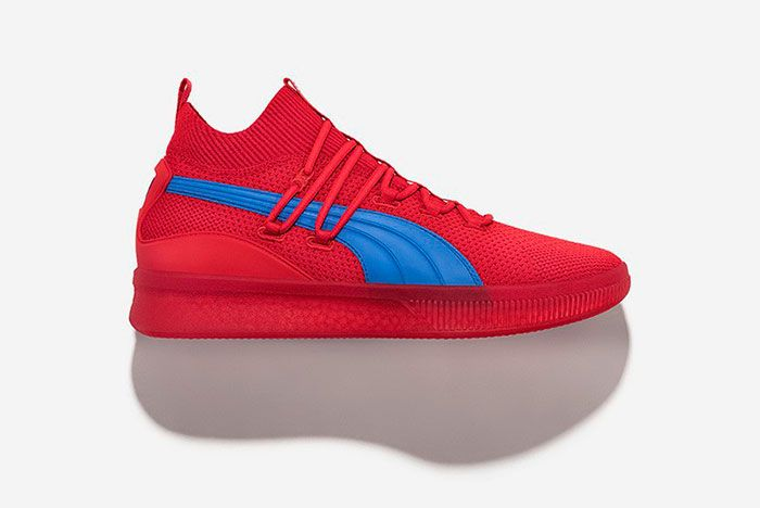 Puma Clyde Court City Pack Red Blue
