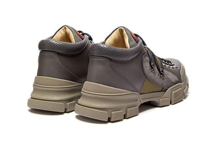 Gucci Flashtrek Boot Grey 2