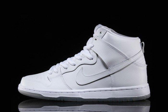 Nike Sb Dunk High Pro White 1