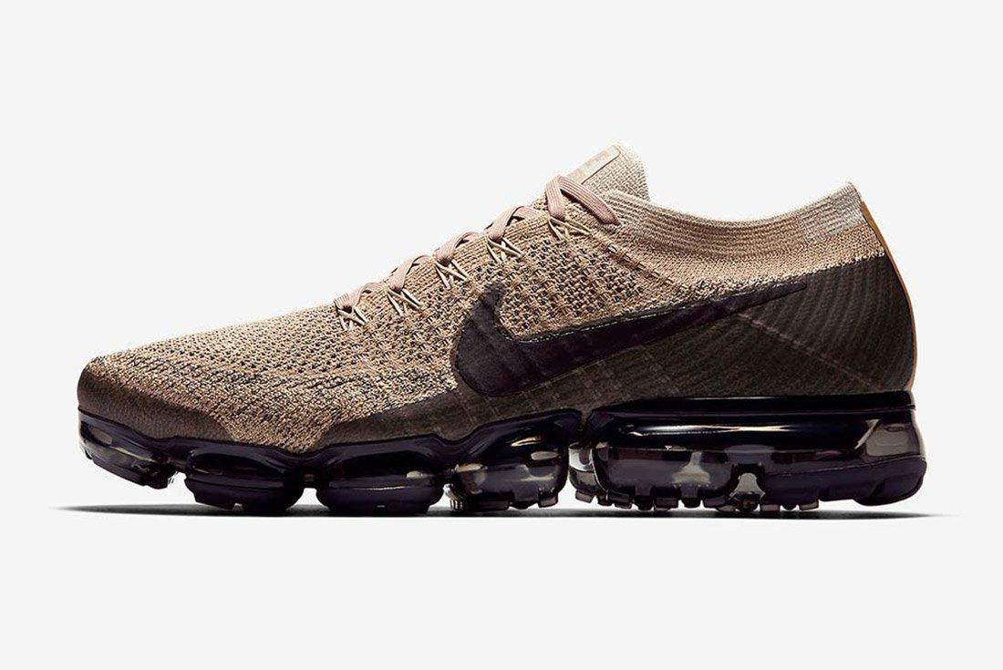 Nike Air Vapormax Tan Brown Black 5