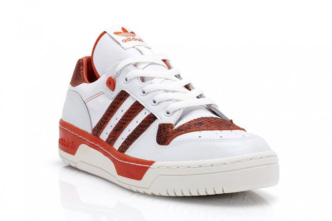 Adidas Rivalry Lo Red Quater Front 1