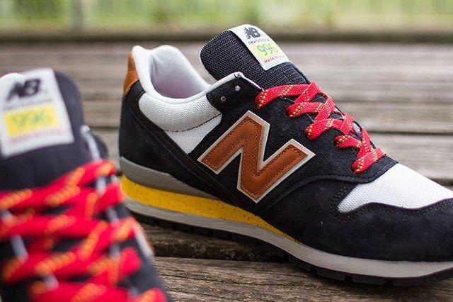 New Balance 996 Black Brown 1