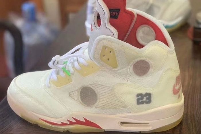 Off White Aj 5 Cropped