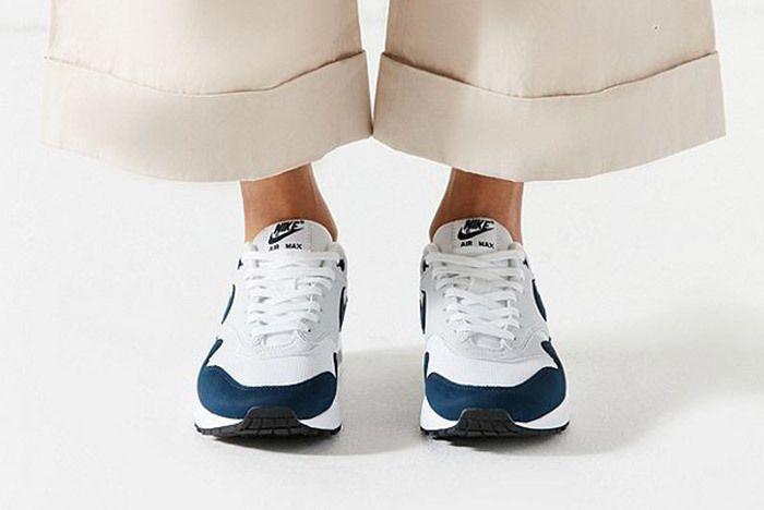 Nike Air Max 1 White Blue 1
