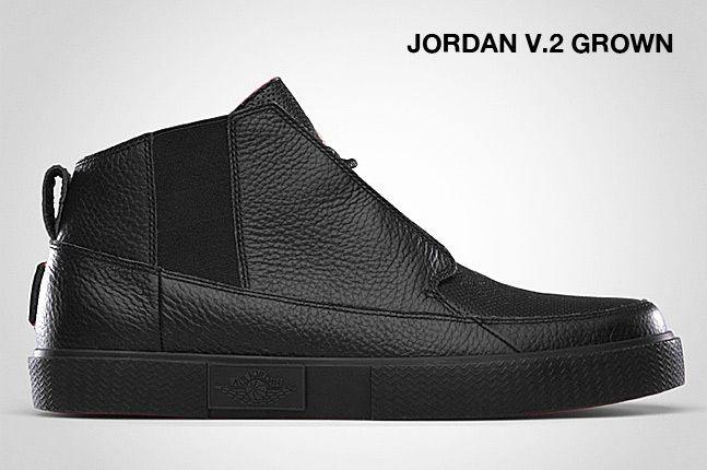 Jordan V 2 Grown Black 1