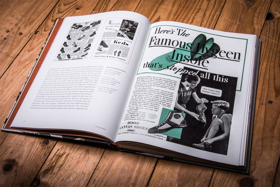 The Sports Shoe Book Lr 4 Pages