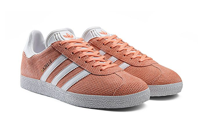 Adidas Gazelle Perforation Pink 1