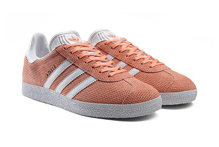 Adidas Gazelle Perforation Pink 1