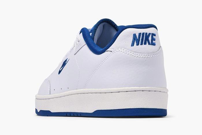 Nike Grandstand Ii Navy Blue Heel